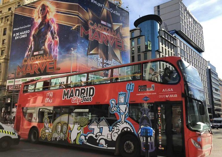 """Madrid""""Spagna""""visitare la città in 20 minuti con City Tour parte storica e parte Moderna stupenda."""