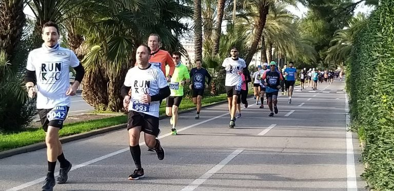 Sanremo Runnig Marathon Partenza 42k.
