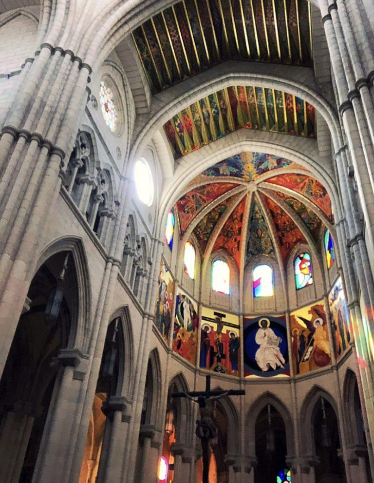 """Spagna""""Madrid visitare la Cattedrale Almudena"""