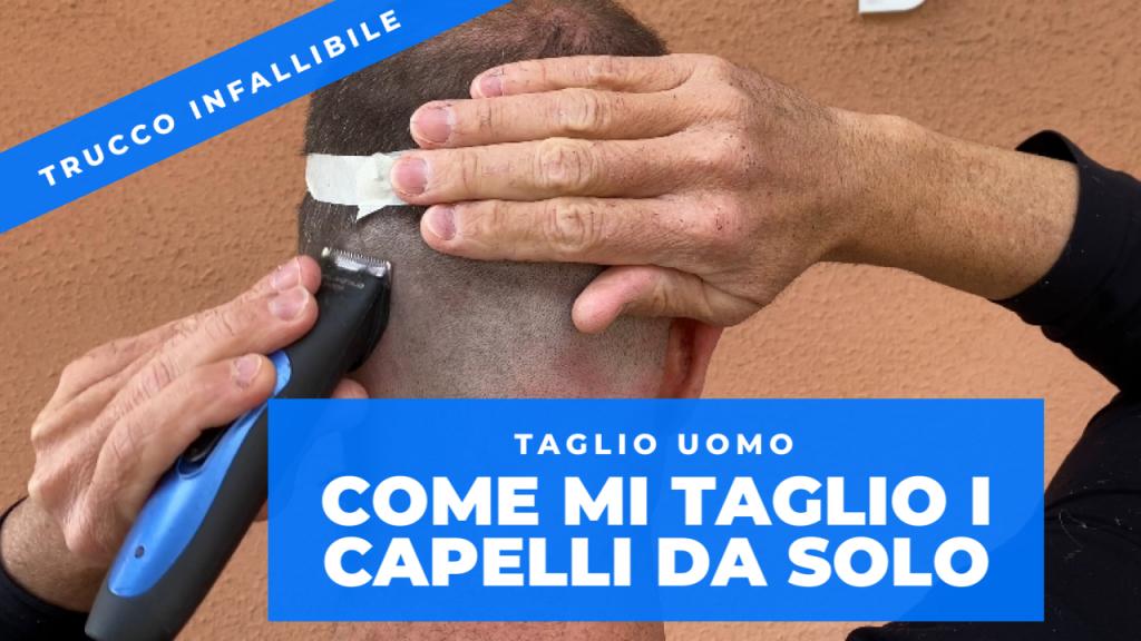 """""""Quarantena - come tagliarsi i capelli da soli senza fare disastri - quarantine how to cut your own"""