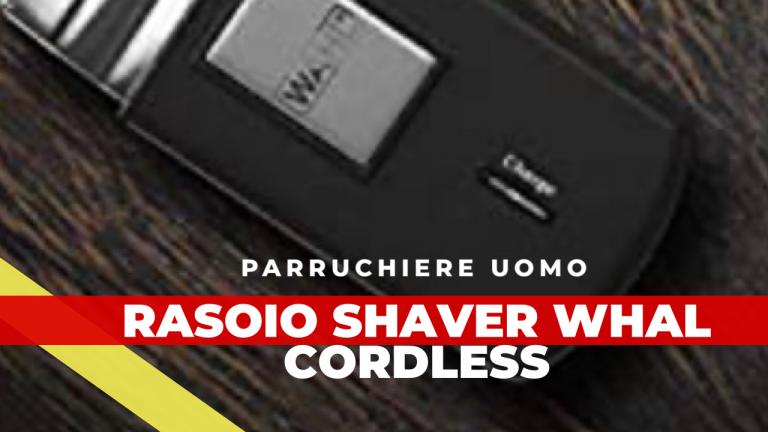 Mobile whal Shaver rasoio
