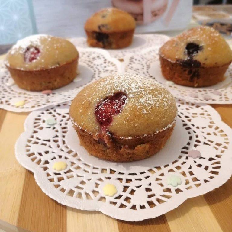 Muffins ai Frutti Rossi.